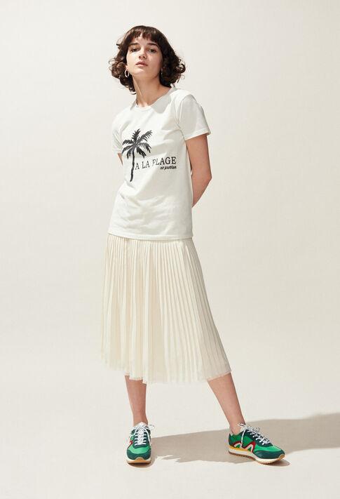 TOCHILL : Camisetas color Ecru