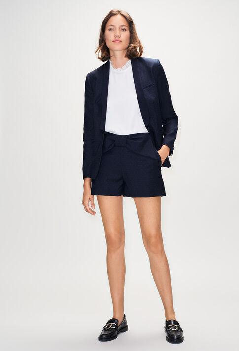 EDMONDPOISH19 : Faldas y pantalones cortos color MARINE