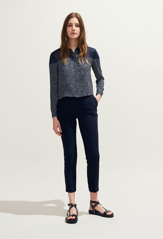 CASSIS : Tops et Chemises couleur MARINE