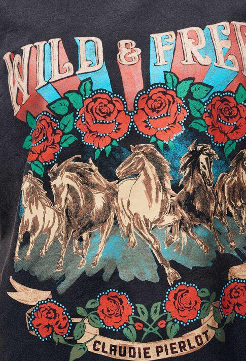 TORMENTO : Camisetas color Noir