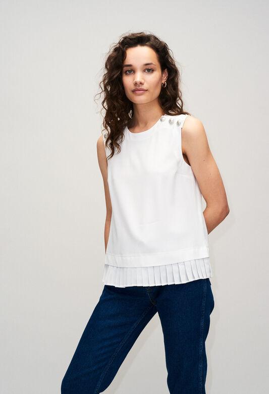 BIAGIOH19 : Tops et Chemises couleur ECRU