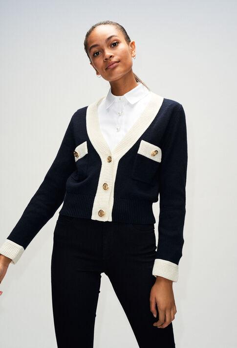 MINIH19 : Jerseys de punto y sudaderas color MARINE