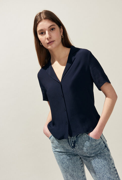 CAMBRIDGE BIS : Tops et Chemises couleur Marine