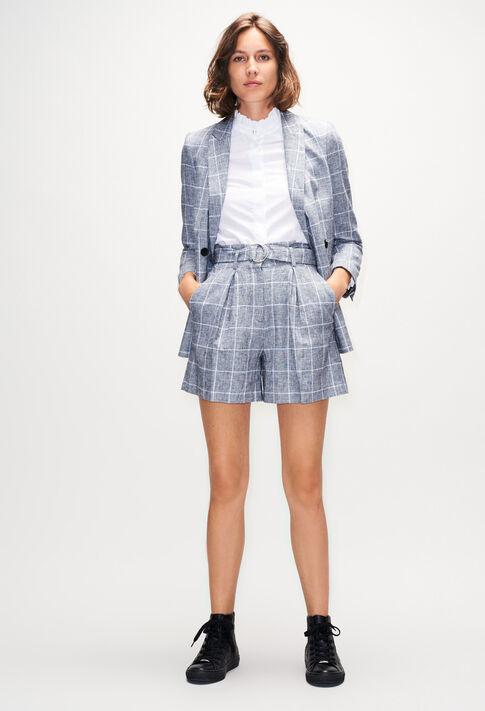 EDWARDBISH19 : Faldas y pantalones cortos color GRIS MELANGE