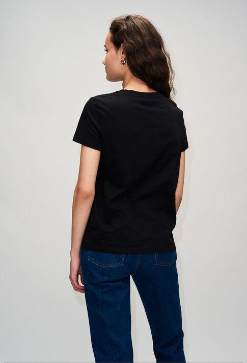TESSIEH19 : Camisetas color NOIR