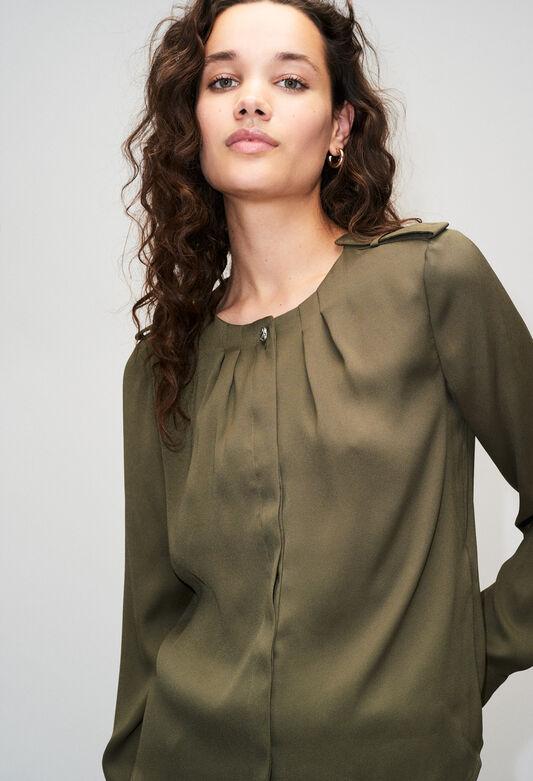 BINOH19 : Tops et Chemises couleur H001