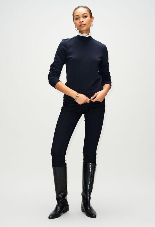 TOURNONH19 : Jerseys de punto y sudaderas color MARINE
