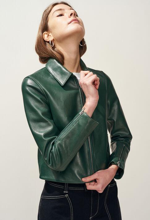 CAYCE : Abrigos y chaquetas color VERT IMPERIAL