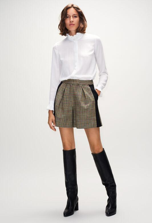 ELSAH19 : Faldas y pantalones cortos color MULTICO