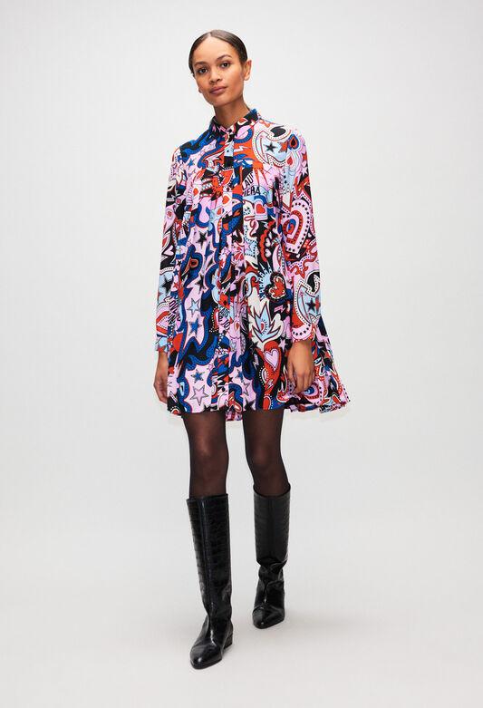 RAMSESH19 : Robes couleur PRINT