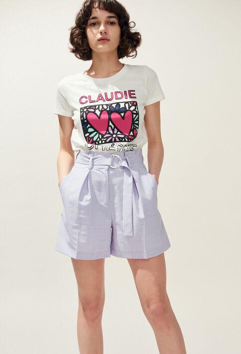 EDWARD : Jupes et Shorts couleur Lilas