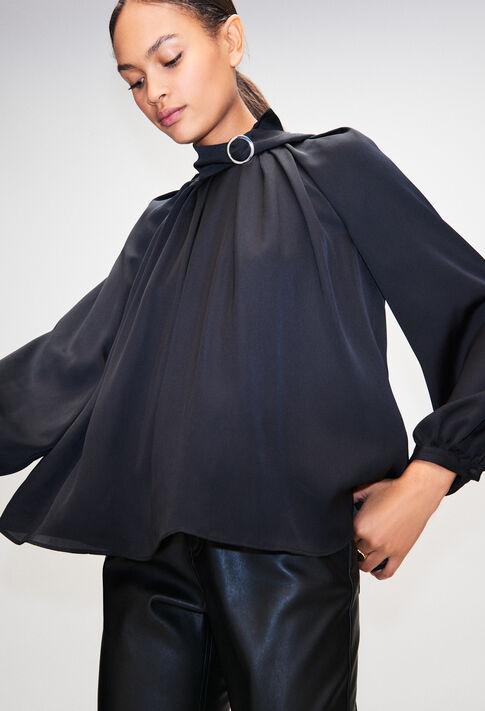 BADIANEH19 : Tops y camisas color NOIR