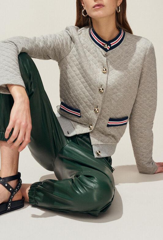 TREMPOLINE : Jerseys de punto y sudaderas color GRIS CHINE