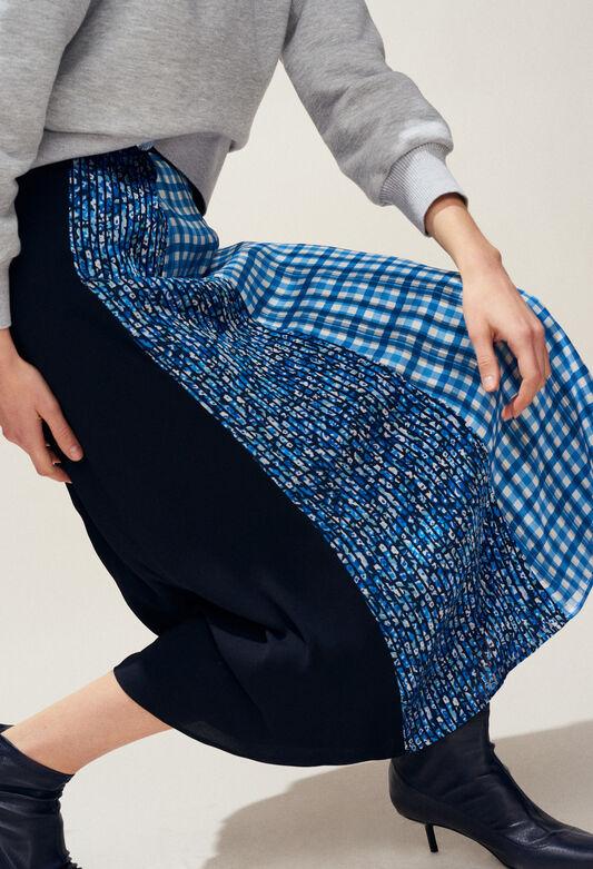 SWEDEN : Faldas y pantalones cortos color MARINE