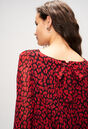 RIFIFILEOPARDH19 : Vestidos color CERISE
