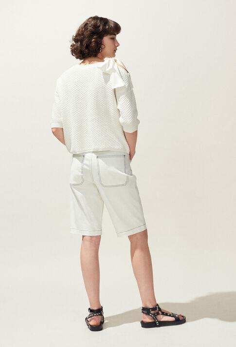 MAGDA : Jerseys de punto y sudaderas color ECRU