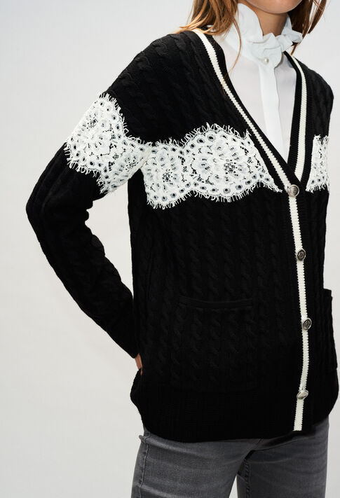 MIELH19 : Jerseys de punto y sudaderas color NOIR