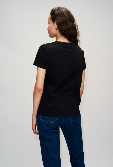 TESSIEH19 : Camisetas color NOIR