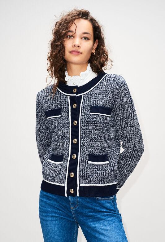 MARCYAH19 : Jerseys de punto y sudaderas color MARINE