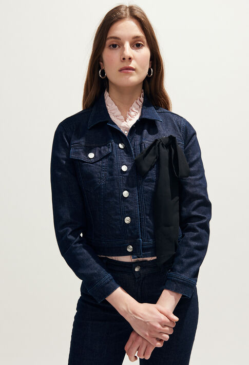 VIZIR : Manteaux et Blousons couleur Jean