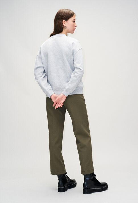 TYPOH19 : Jerseys de punto y sudaderas color GRIS CHINE CLAIR