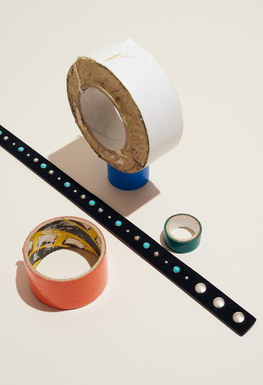 AVEGAS TURQUOISE : Cinturones color NOIR
