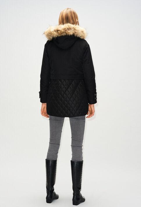 GRAVIERH19 : Abrigos y chaquetas color NOIR