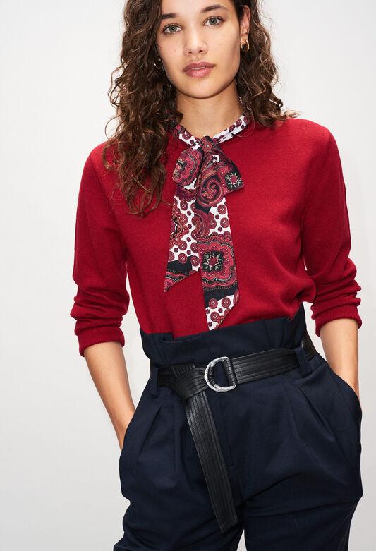 MERINAH19 : Jerseys de punto y sudaderas color CERISE