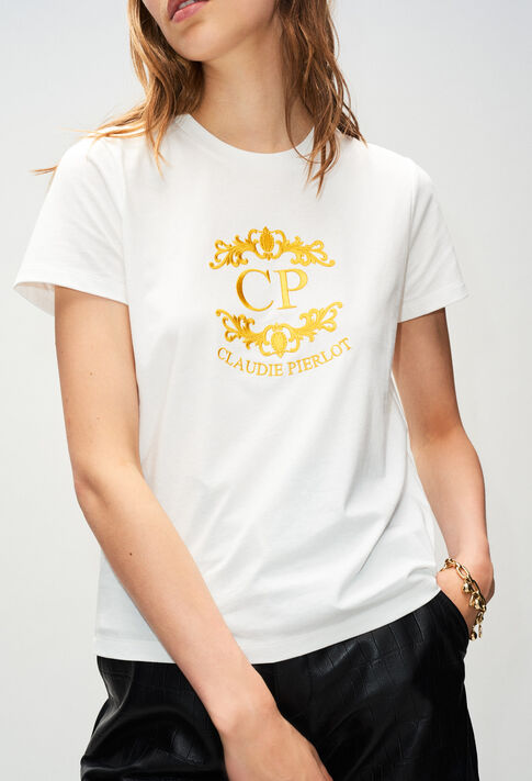 TOURNESOLH19 : Camisetas color ECRU