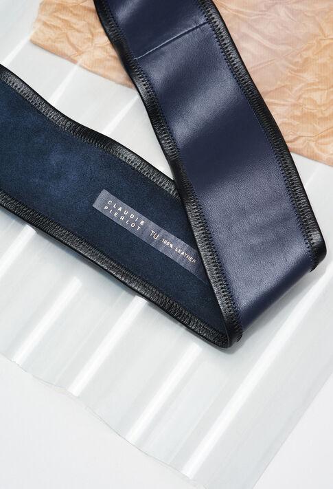 ANOUERH19 : Cinturones color MARINE