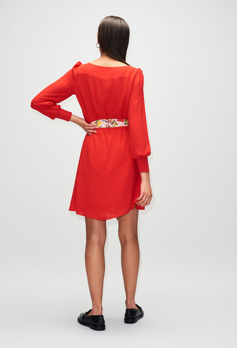 RAVAGEUSEH19 : Vestidos color ROUGE
