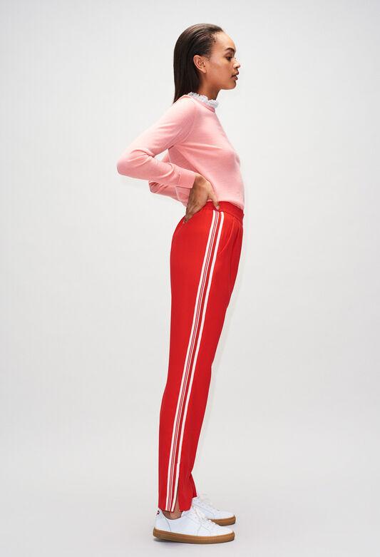 PAMPILLEH19 : Pantalones y vaqueros color ROUGE