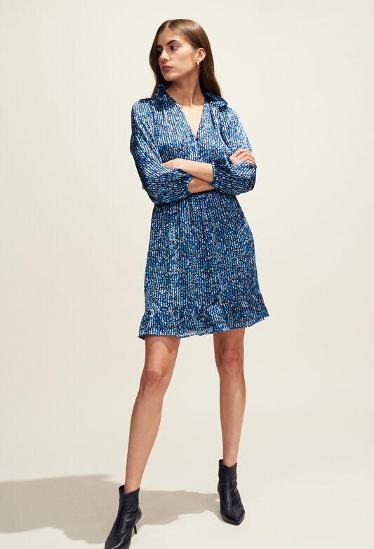 ROSANA : Vestidos color BLEUET