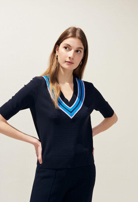 MISTIGRIS : Jerseys de punto y sudaderas color Marine