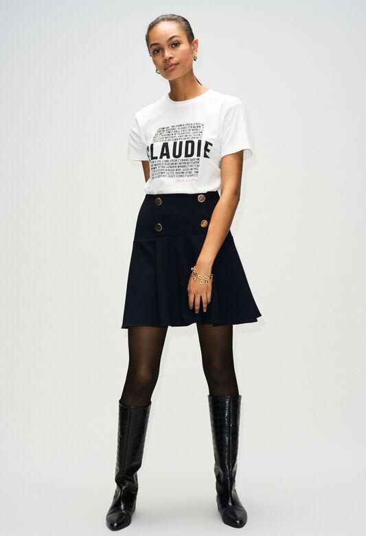STACYH19 : Jupes et Shorts couleur NOIR