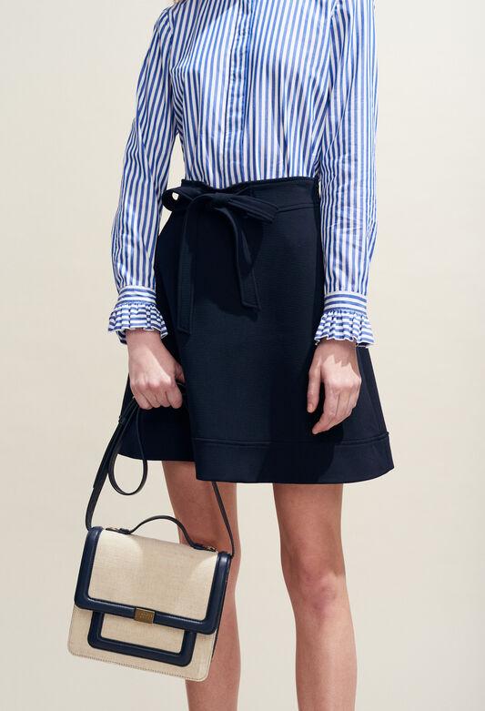 SEYA : Faldas y pantalones cortos color MARINE