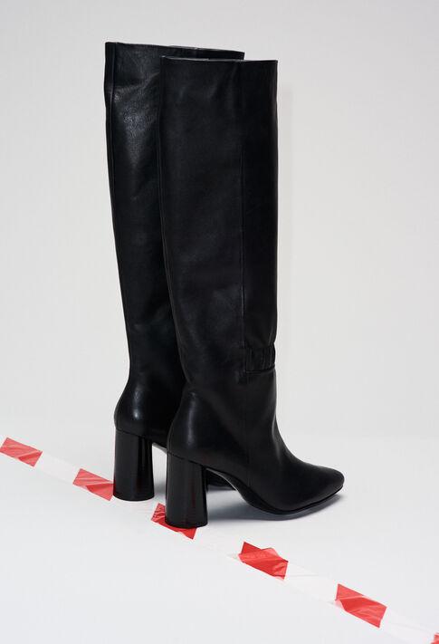 AUDREYH19 : Zapatos color NOIR