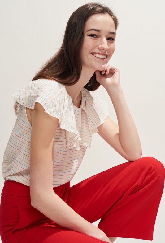 BABIANA : Tops et Chemises couleur IVOIRE