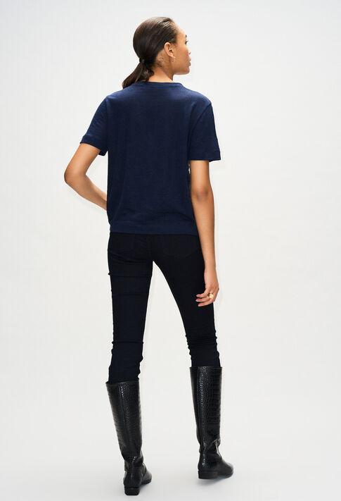 TEARSH19 : Camisetas color MARINE