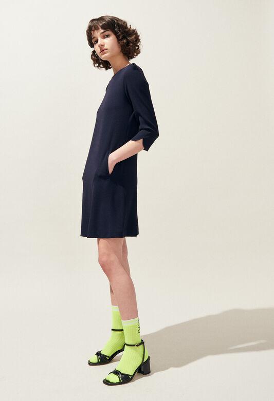 RICHA : Robes couleur MARINE