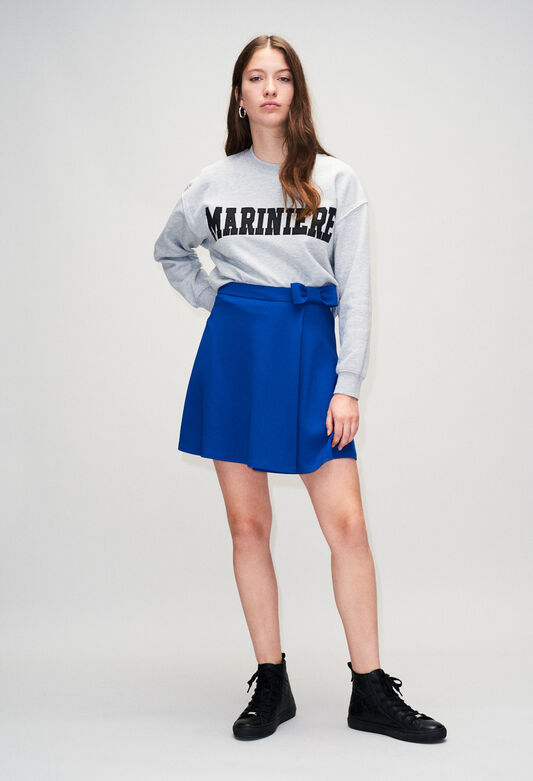 SPLEENYH19 : Faldas y pantalones cortos color BLEU ROI