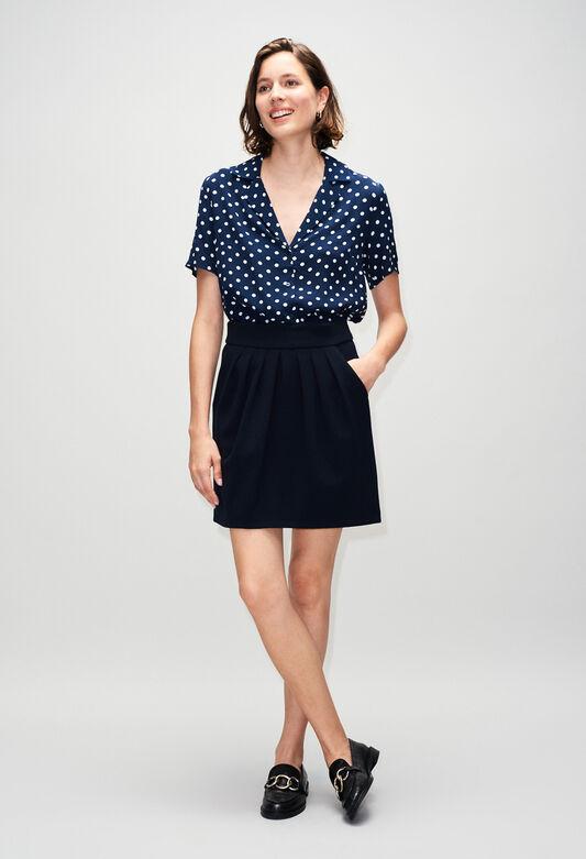 SYLVIAH19 : Faldas y pantalones cortos color MARINE