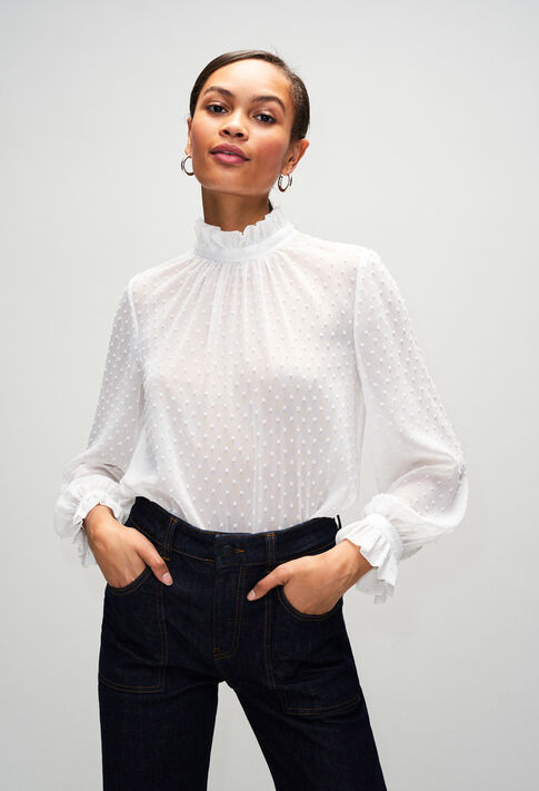 BALLROOMH19 : Tops et Chemises couleur ECRU