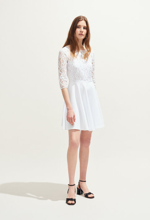 RHODES : Vestidos color Blanc