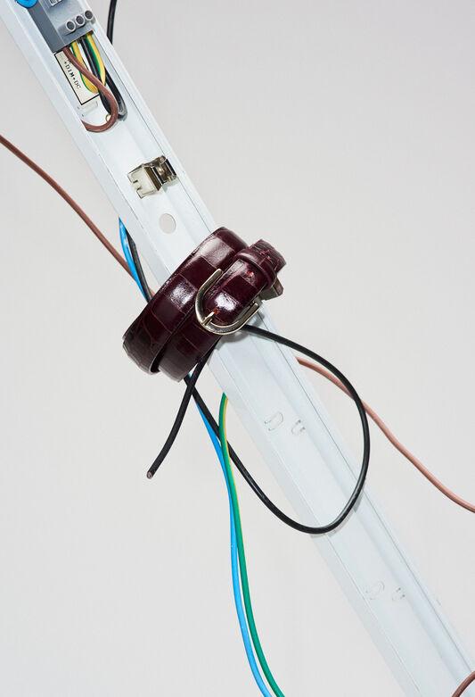 ADELACROCOH19 : Cinturones color COQUELICOT