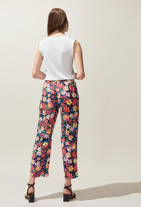 POLISSENA : Pantalons et Jeans couleur Multico