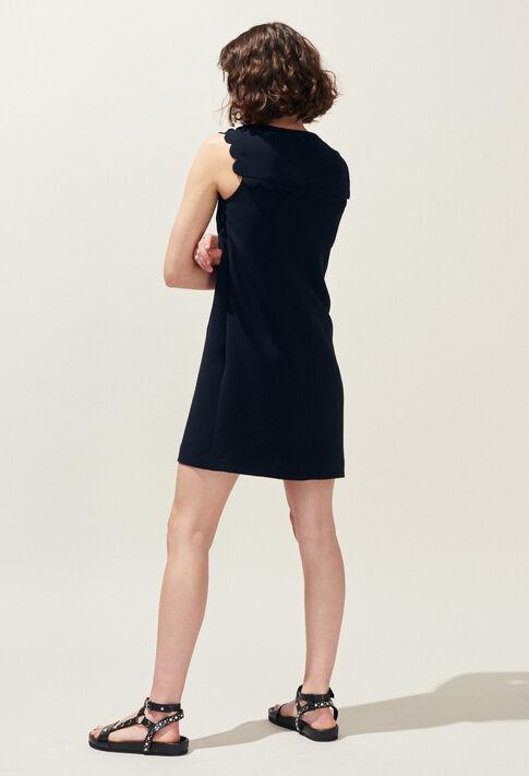 REYNA : Vestidos color MARINE