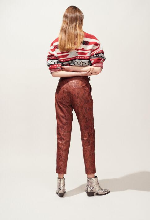 CRANBERRY : Pantalons Jupes & Shorts color Python