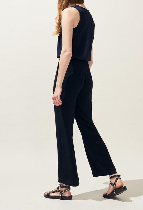 POURPRE : Pantalons et Jeans couleur Marine
