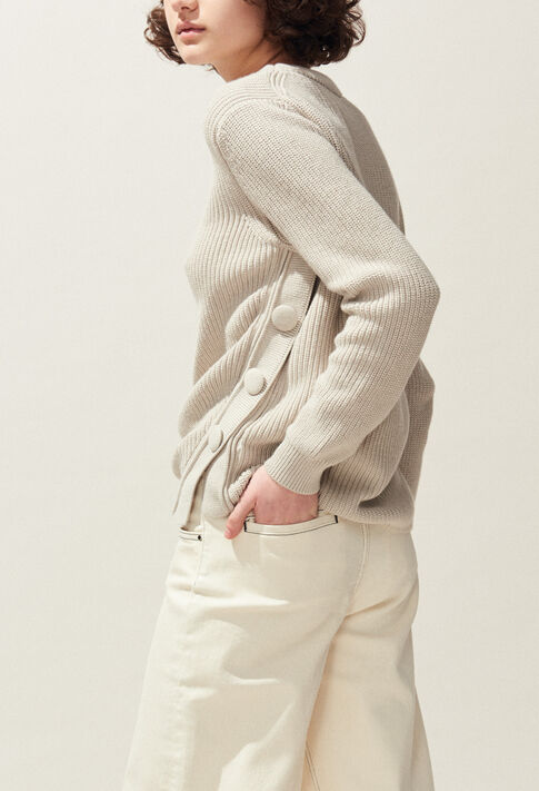 MABOUCLE : Jerseys de punto y sudaderas color Naturel